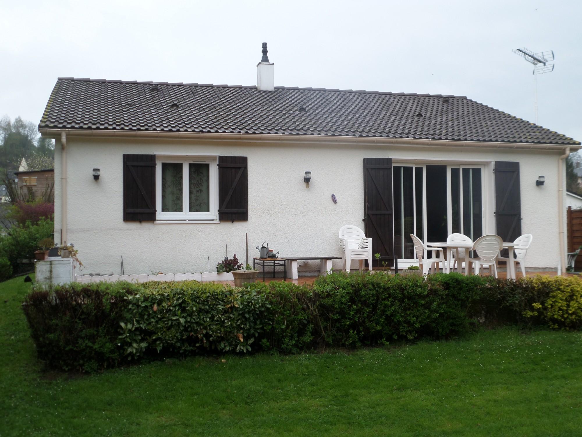 Ventes maison de plain pied t4 f4 centre epouville achat for Site vente de maison